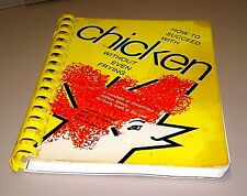 Books, How To Succeed With Chicken Without Even Frying Cookbook, Recipes
