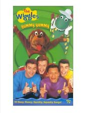The Wiggles Yummy Yummy VHS 2000 Clam Shell very good