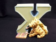 Classic Pooh resin Letter X Tigger xylophone green Michael & Co hang or stand