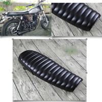 64cm Motorrad Schwarz Bench Seat Sitz Sitzbank Siège Selle banq für Cafe Racer D