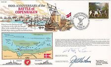 6RN1c 190th Anniversary of the Battle of Copenhagen Double Signed