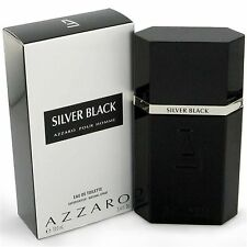 Azzaro Silver Black EDT for Men 100ml | Genuine Azzaro Men's Perfume