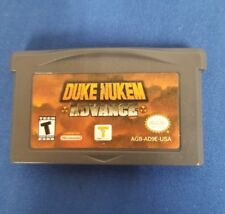Duke Nukem Advance Nintendo Game Boy Advance GBA-100% AUTHENTIC & Excellent Cond