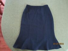 NWOT Austin Reed 100% Silk Skirt, Black, Size 8, Lined Career