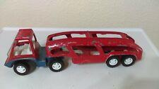 1969 Hubley Auto Transport Truck Car Carrier #1917 Original Paint Diecast