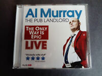 Al Murray The Pub landlord - The only way is epic - Live - Audio CD - 2012