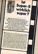 SUPER 8 cameras Bauer Beaulieu 2008s NIZO s4 BOLEX-relazione originale di 1965