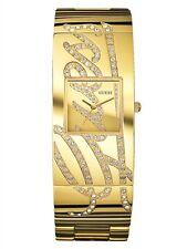 NEW Guess Ladies Gold Cuff Autograph Watch U15045L1