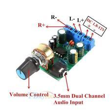 TDA2822M Amplificador 2.0 Canales Estéreo Amplificador Audio Placa Módulo DC 1.8-12V L49