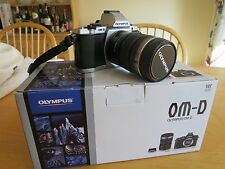 Olympus OM-D E-M5 Camera Kit with Olympus ED EZ 12-50mm Zoom