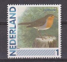 NVPH Nederland Netherlands MNH singing bird, roodborst petirrojo redbreast 2011