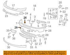 GM OEM Front Bumper-Outer Bracket Rivet 22718369
