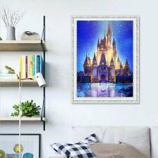 Disney Castle DIY 5D Full Diamond Painting Embroidery Cross Stitch Art Decor EA
