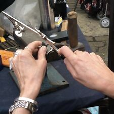 Une étoile est née @ @ The Making of My Sterling Silver Star Collier made in London