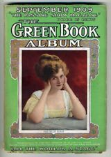 THE GREEN BOOK ALBUM Sept 1909 William Gillette Fathers of Vaudeville Theatre