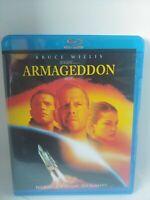Armageddon (Blu-ray) Michael Bay OOP Bruce Willis Ben Affleck Free Shipping