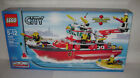 NEW 7207 Lego CITY Fire Boat Floats Building Toy SEALED BOX RETIRED A