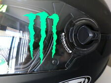 Pair of SMALL claws MotoGP Motorcycle Motorbike HELMET Decals Sticker