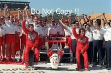 Ayrton Senna & Alain Prost McLaren MP4/4 Australian Grand Prix 1988 Photograph