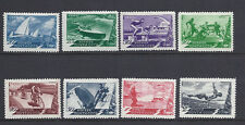 RUSSIA 1949 SPORTS Sc 1376-83 VF/XF fresh MNH
