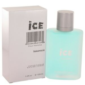 SAKAMICHI ICE Eau De Parfum Spray FOR MEN 3.4 Oz / 100 ml BRAND NEW ITEM SEALED!