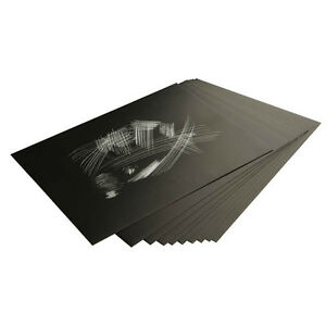 Blank Engraving Scraper Board - Choose Size/Quantity