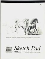 9 x 12 inches 40 Sheets premium Quality Sketch Book Drawing Paper Pad Inch