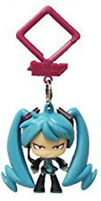 Vocaloid 2'' Hatsune Miku Angry Hanger Figure Bag Clip Key Chain NEW