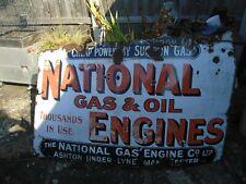More details for antique enamel sign