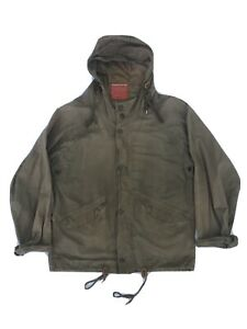Nigel Cabourn Aircraft Jacket - Tan, Oil Cloth, Made In UK Size 44