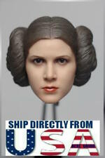 1/6 Princess Leia Head Sculpt STAR WARS A New Hope For PHICEN Female Figure USA