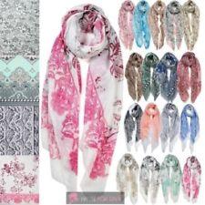 Bufanda de mujer de color principal rosa
