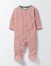 BODEN UNISEX BABY SUPER SOFT STRIPY TOWELLING SLEEPSUIT BABYGROW ROMPER 6-9M