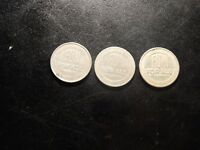 THREE FUN FOR ALL GOOD TIME TOKENS!     ZZ838XTX