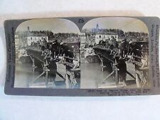 "WW1 ""VIEW OF FAMOUS BRIDGE OVER THE MARNE ~FRANCE"" WWI KEYSTONE STEREOVIEW 18715"
