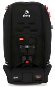 Diono Radian 3 R All-in-One Convertible +Booster Child Safety Car Seat Black Jet
