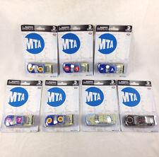 Full Set 7 MTA Metro Transit Authority NY Subway Map Cars Lionel Racing Diecast