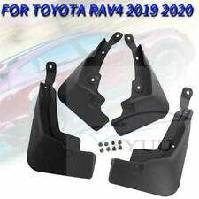 4PCS Car Mud Flaps Splash Guard Fender Mudguard For Toyota RAV4 2019-2020 Black