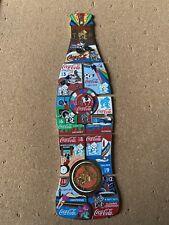 Londres 2012 Juegos Paralímpicos Completo Conjunto Pin insignias días Coke Coca Cola Olimpiadas