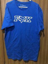 Fox XL Shirt Blue