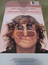 John Lennon Walls & Bridges Longbox Package +Cd 1st Release, Original Album art