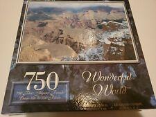Wonderful World 750 Piece Grand Canyon Jigsaw Puzzle Surelox. Sealed