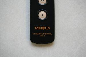 Minolta IR Controller RC-3 Wireless Remote Trigger