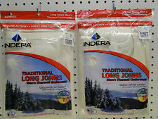 New Men's Cotton Rich Long Johns Thermal Underwear Set 4X