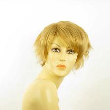short wig for women smooth golden blond REF ROMANE 24B PERUK
