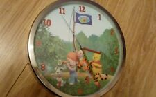 my friends tigger and pooh wall clock