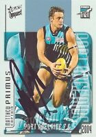 ✺Signed✺ 2004 PORT ADELAIDE POWER AFL Premiers Card MATTHEW PRIMUS
