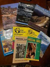 Book Lot GEOLOGY OF PACIFIC NORTHWEST Oregon Washington Roadside Cascades