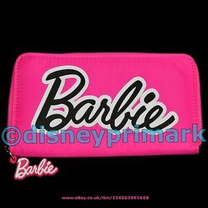 Official BARBIE PURSE Ladies Girls Pink Wallet Designer Coin Clutch Bag Doll Ken