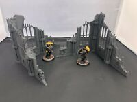 Gothic Ruined Buildings Scenery Terrain for 28mm Tabletop Miniature Wargames